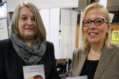 Biljana Golubovic vom Golub-Verlag mit Barbara