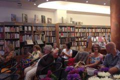 Lesung mit Barbara Petermann in der Buchlounge, Berlin Zehlendorf.